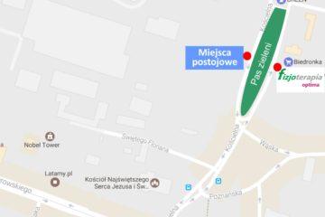 Lokalizacja parkingu